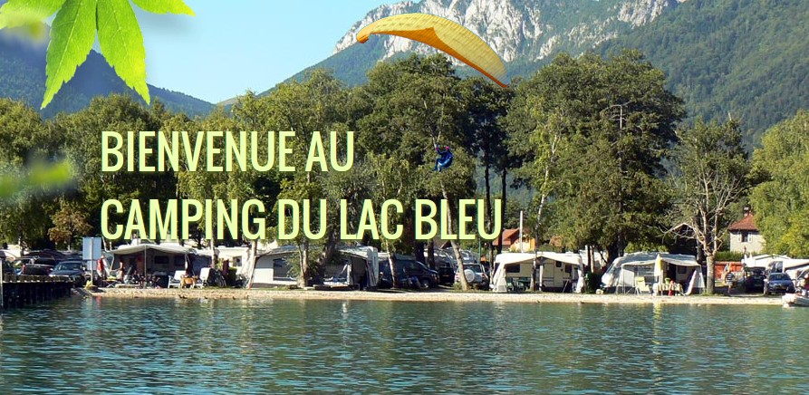 camping 5 étoiles Lac Bleu lac d'annecy