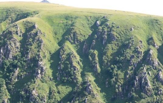 randonnées dans les Vosges sur la route des crêtes vers le Hohneck