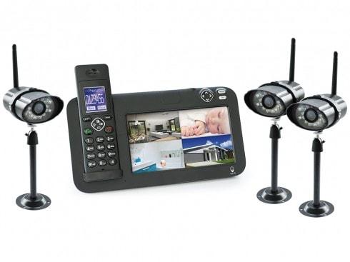 videosurveillance sans fil avec camera nocturne